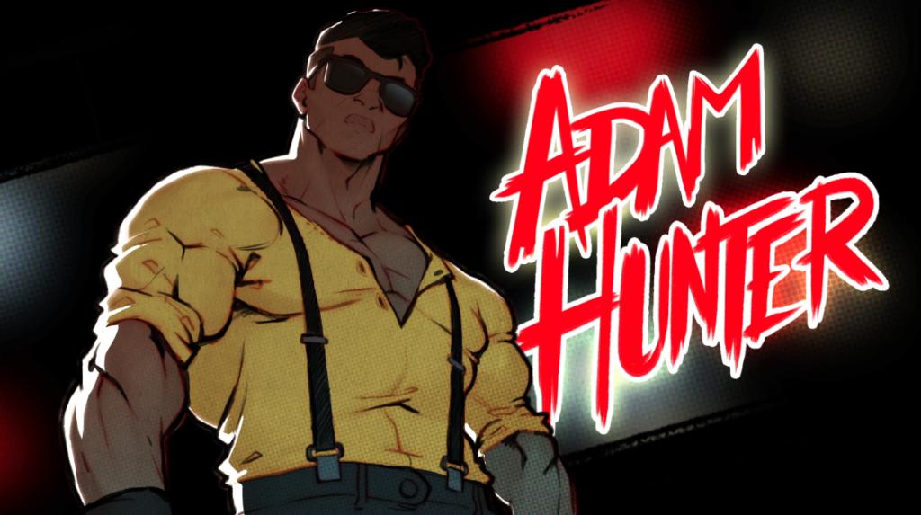 Adam Hunter em Streets of Rage 4