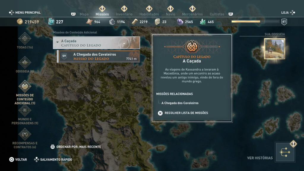 Assassin's Creed Odyssey: O Legado da Primeira Lâmina - Episódio 1: Caçada