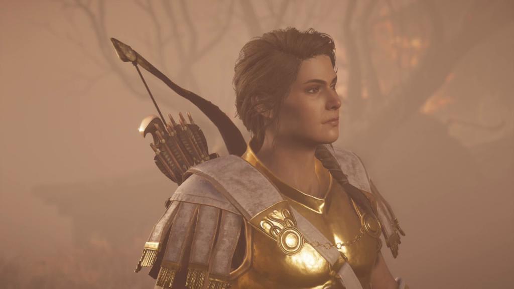 Assassin's Creed Odyssey - Após zerar - legado da primeira lamida - kassandra apos queimar tudo Assassin's Creed Odyssey: O Legado da Primeira Lâmina - Episódio 1: Caçada