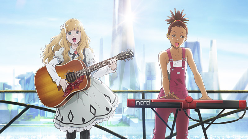 Dica de Anime: Carole & Tuesday (Resenha/Análise/Review – Part 1)