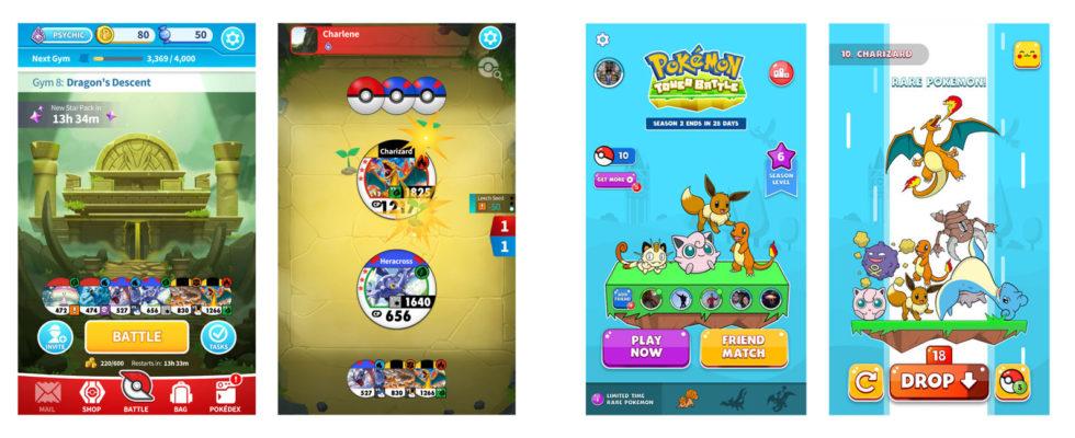Pokémon Medallion Battle e pokemon tower batle-