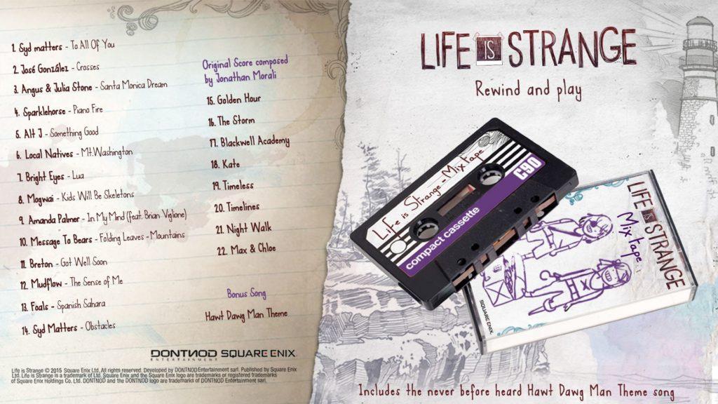 soundtrack life is strange
