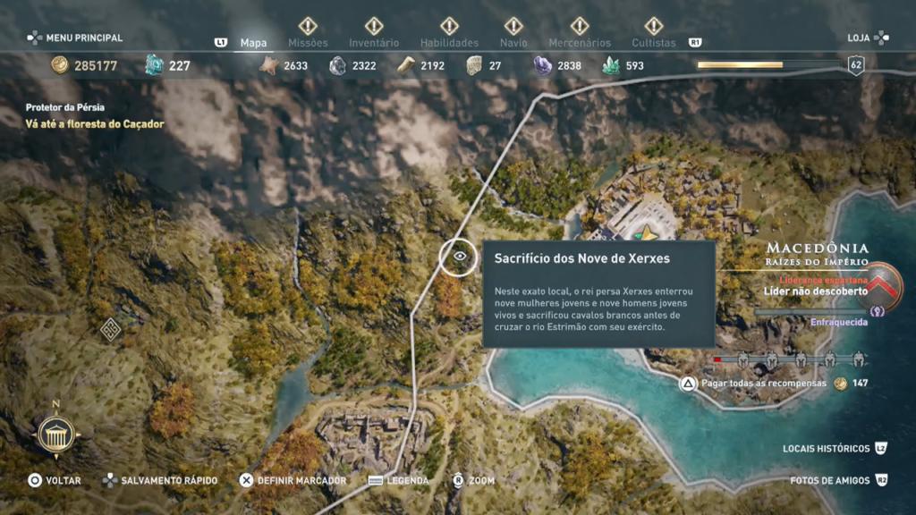 Assassin's Creed Odyssey - Após zerar - Missão do Legado Captura de Tela 2019-12-17 22-57-41