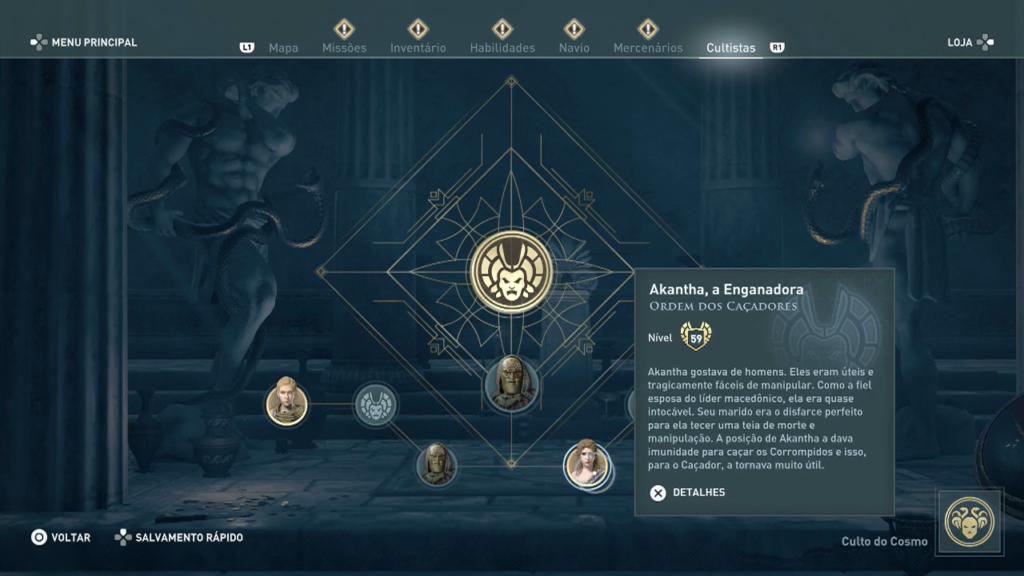 Assassin's Creed Odyssey - Legado Akantha, a Enganadora 2