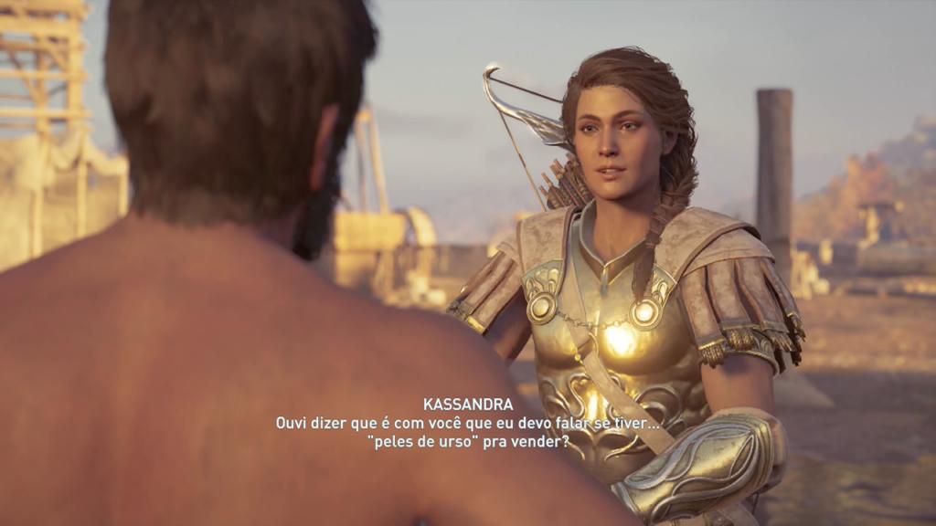 Assassin's Creed Odyssey - Legado Echion o Vigia anfípole