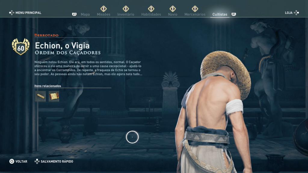 Assassin's Creed Odyssey - Legado Echion o Vigia anfípole4
