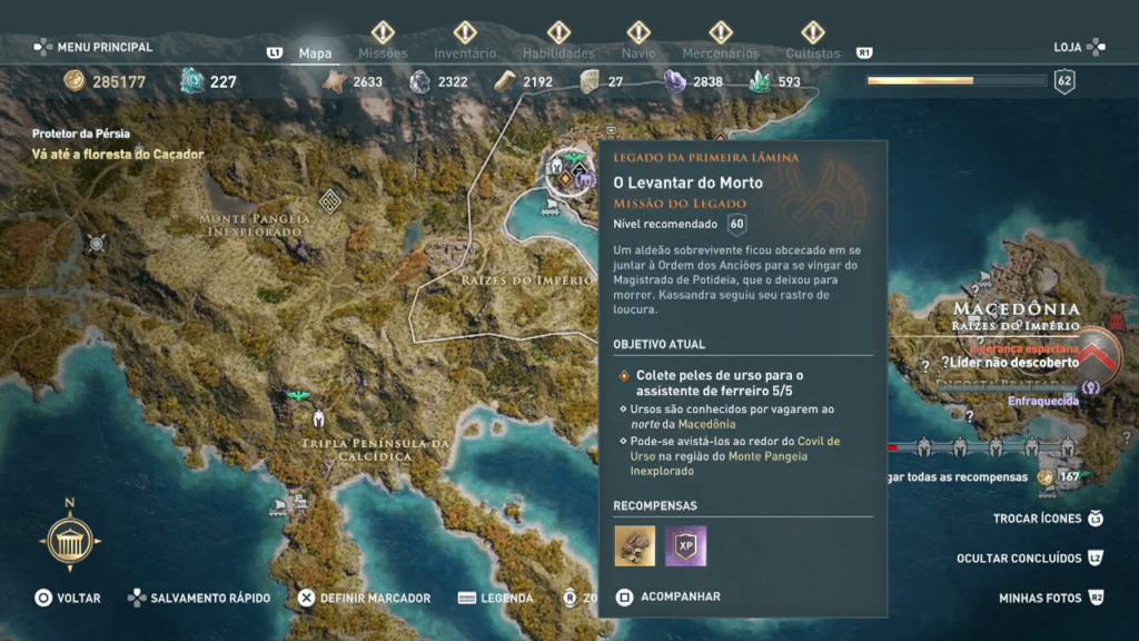Assassin's Creed Odyssey - Legado Echion o Vigia anfípole46