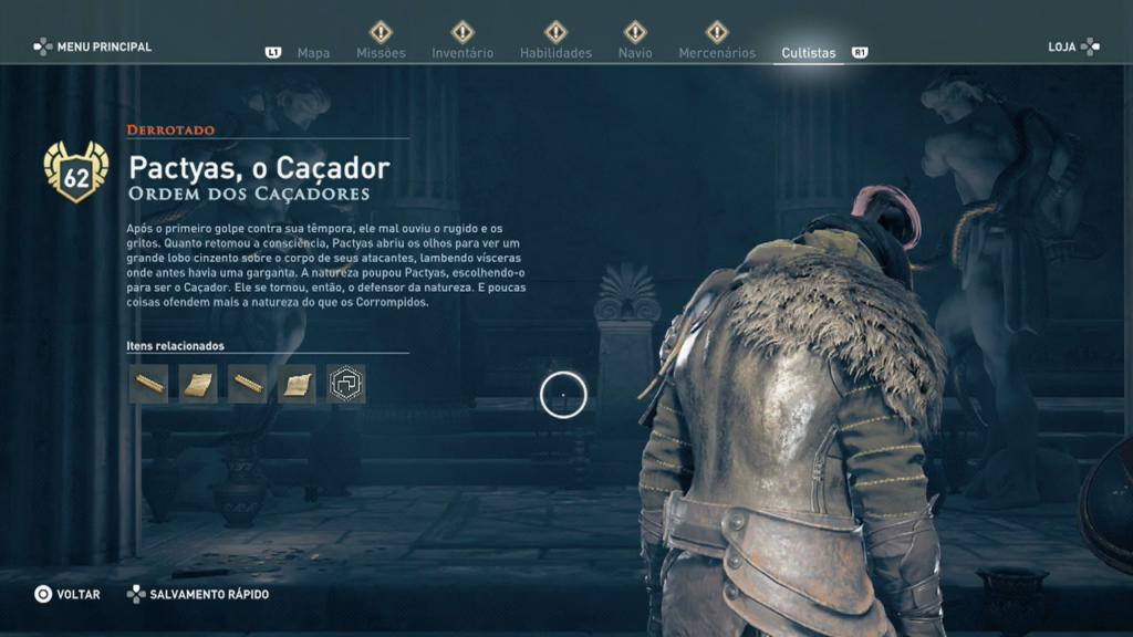 Assassin's Creed Odyssey - LegadoPactyas, o Caçador 4