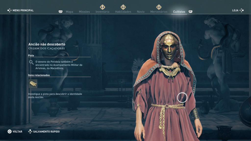Assassin's Creed Odyssey - Após zerar - Missão do Legado - após terminar capitulo Captura de Tela 2020-02-07 21-35-44