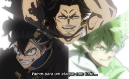 Black Clover 119 o Ataque final ataque com tdo