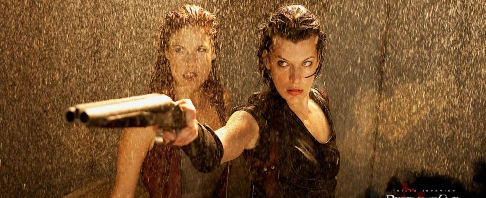 resident evil milla and claire