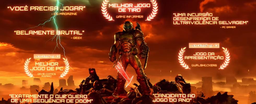 Doom Eternal oficial Lançamento