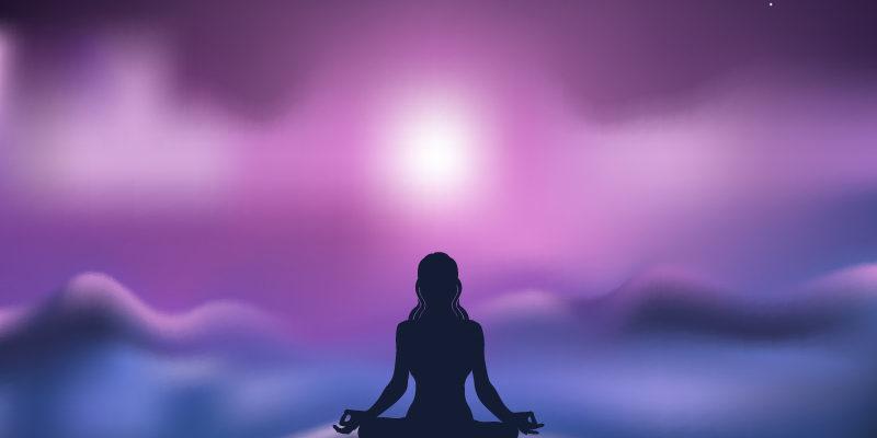 chama violeta meditacao