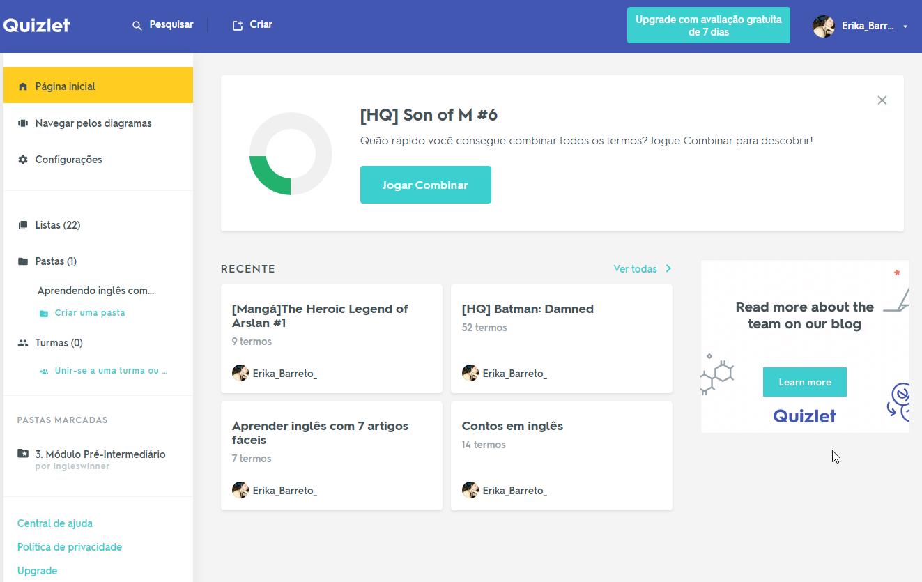 Quizlet: uma ferramenta incrível para otimizar seu aprendizado