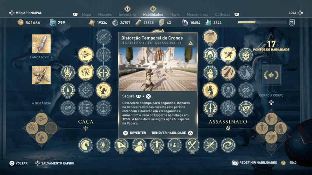 Distorção temporal de cronos Assassin's Creed Odyssey - Ep 1 campos de Elísio Captura de Tela 2020-05-10 12-08-50