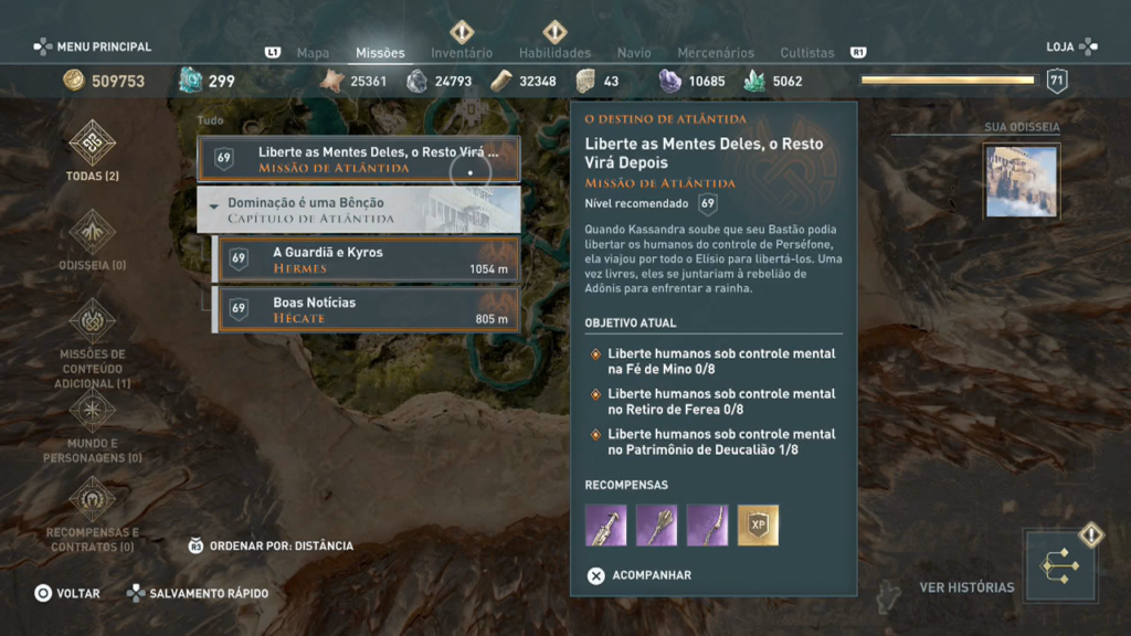 Assassin's Creed Odyssey - Ep 1 campos de Elísio Captura de Tela 2020-05-10 12-13-07