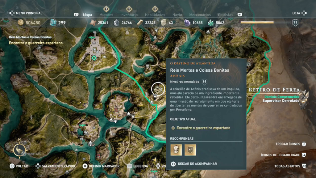 Assassin's Creed Odyssey - Ep 1 campos de Elísio Captura de Tela 2020-05-17 13-38-57