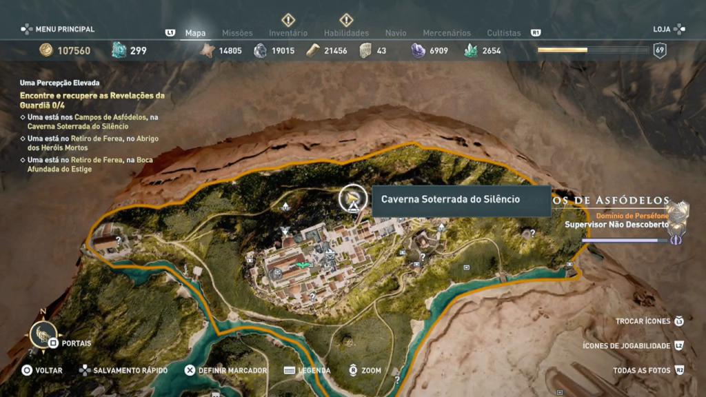 Assassin's Creed Odyssey - Ep 1 campos de Elísio Captura de Tela 2020-05-17 14-05-06