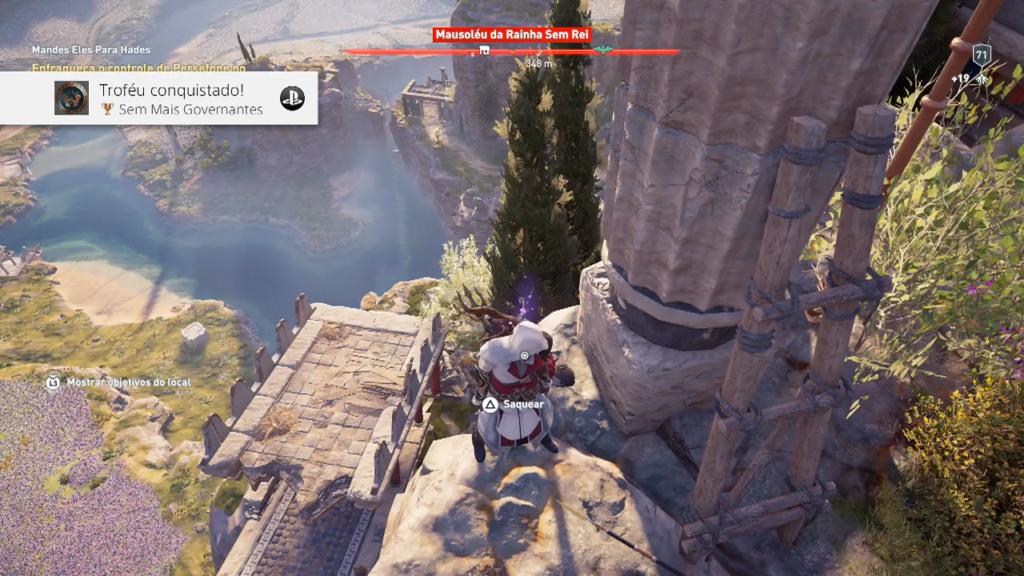 Assassin's Creed Odyssey - Ep 1 campos de Elísioatlandida sem governantes