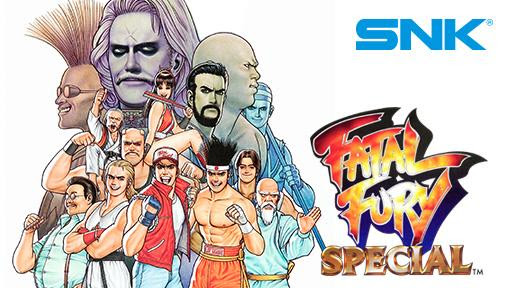 Fatal Fury Special - SNK Twitch Prime - NEOGEO
