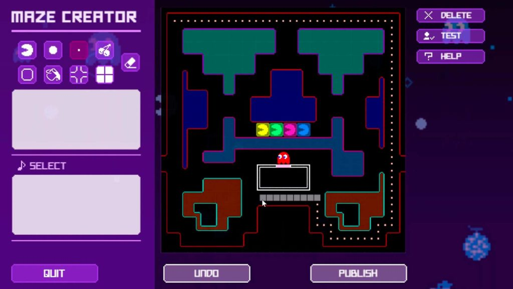 PAC-MAN-2 maze creator pac-man live studio 40 anos