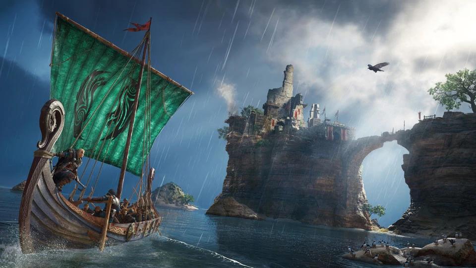 assassins creed valhalla navio