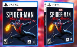 PS5 Boxart spider-man miles morales capa
