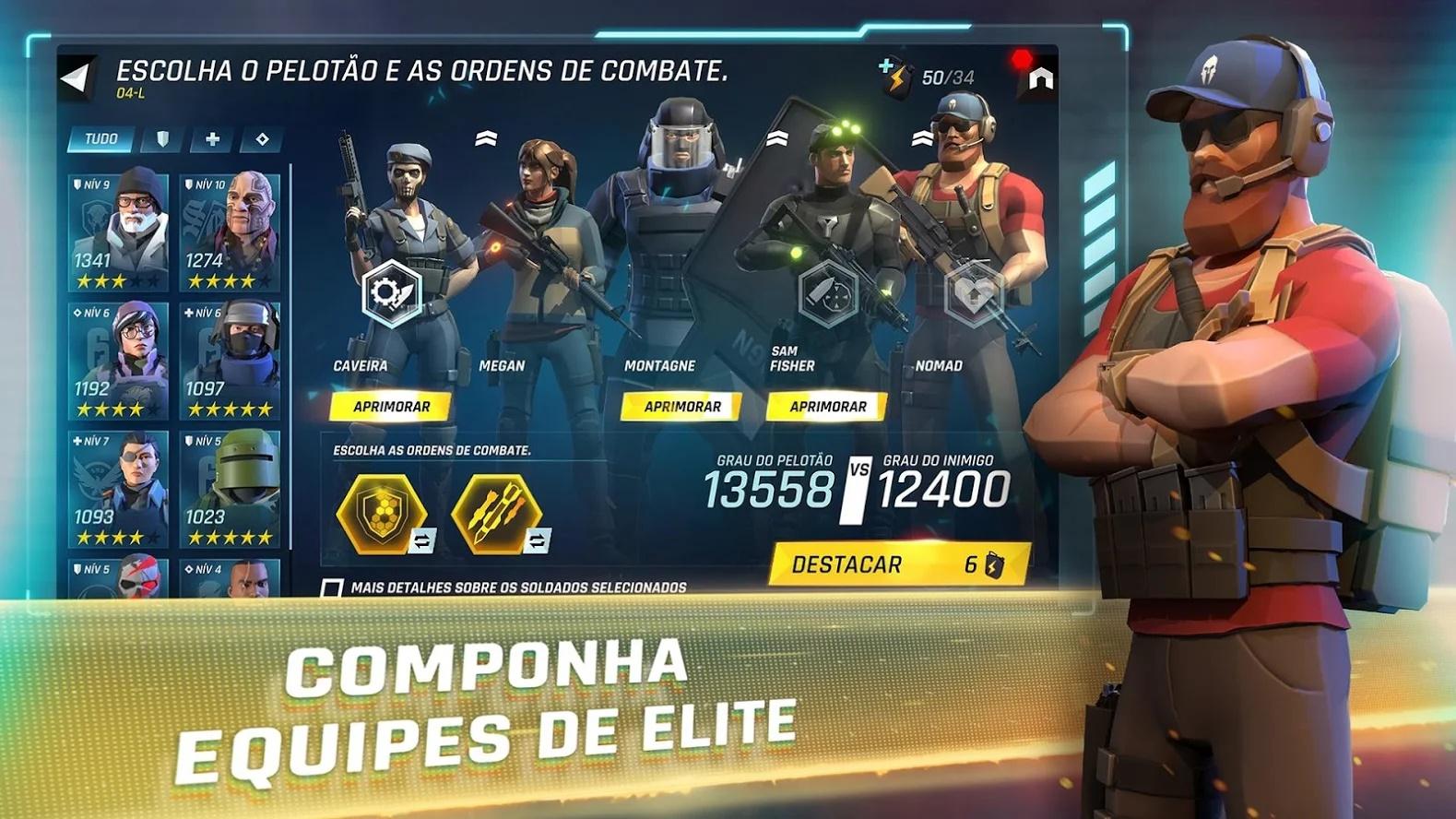 Tom Clancy's Elite Squad equipes de elite