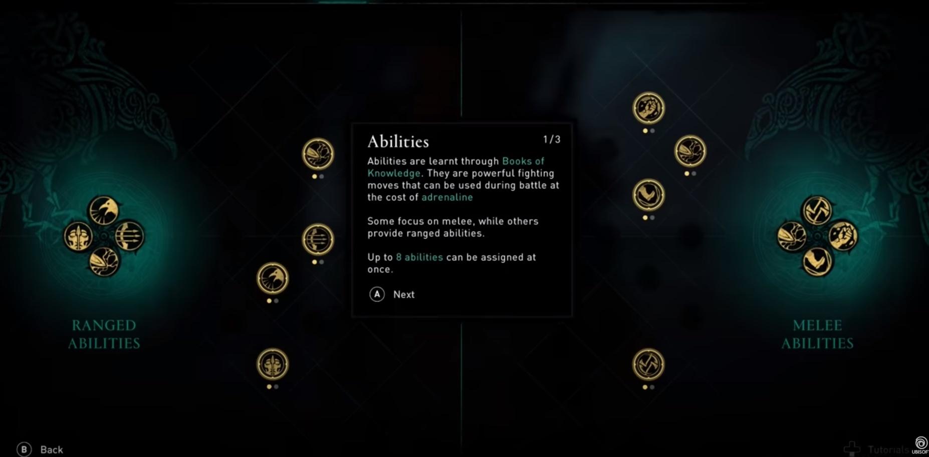 assassins creed valhalla habilidades