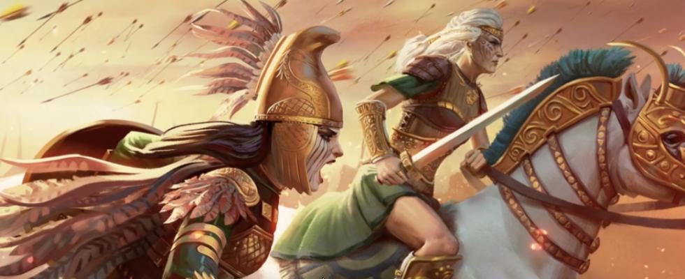 Total War Saga Troy DLC Amazons capa