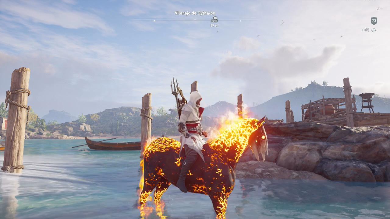 Assassin's Creed Odyssey - phobos upando a vida