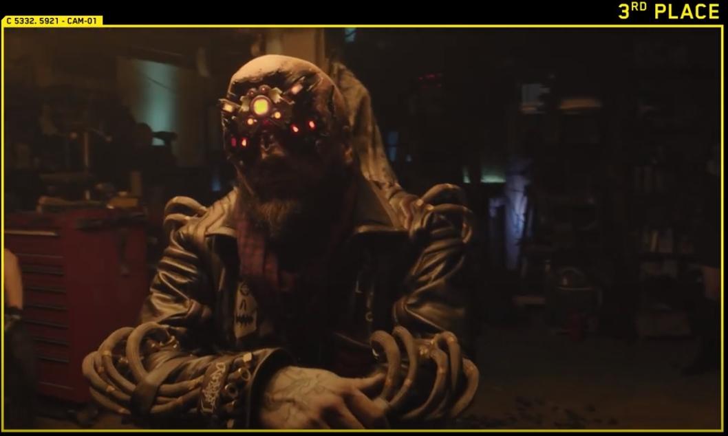 cyberpunk 2077 Larry Hastings (Vulture Productions), EUA, Personagem Royce