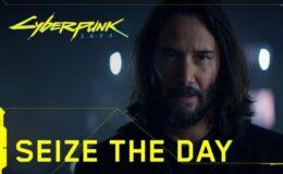 cyberpunk 2077 keanu reeves aproveite o dia seixe the day