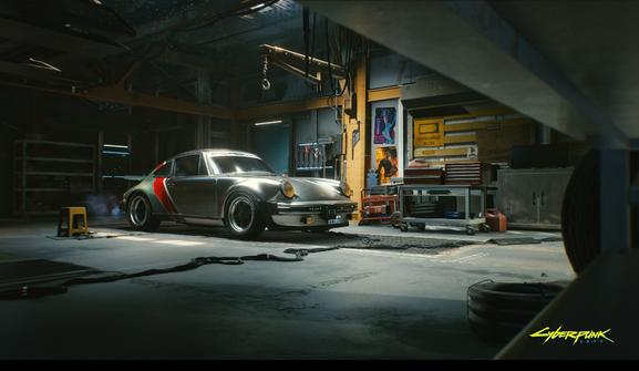cyberpunk 2077 porsche 911 turbo