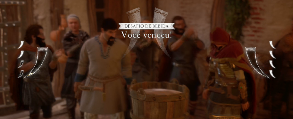 Assassin's Creed Valhalla dinheiro facil bebida
