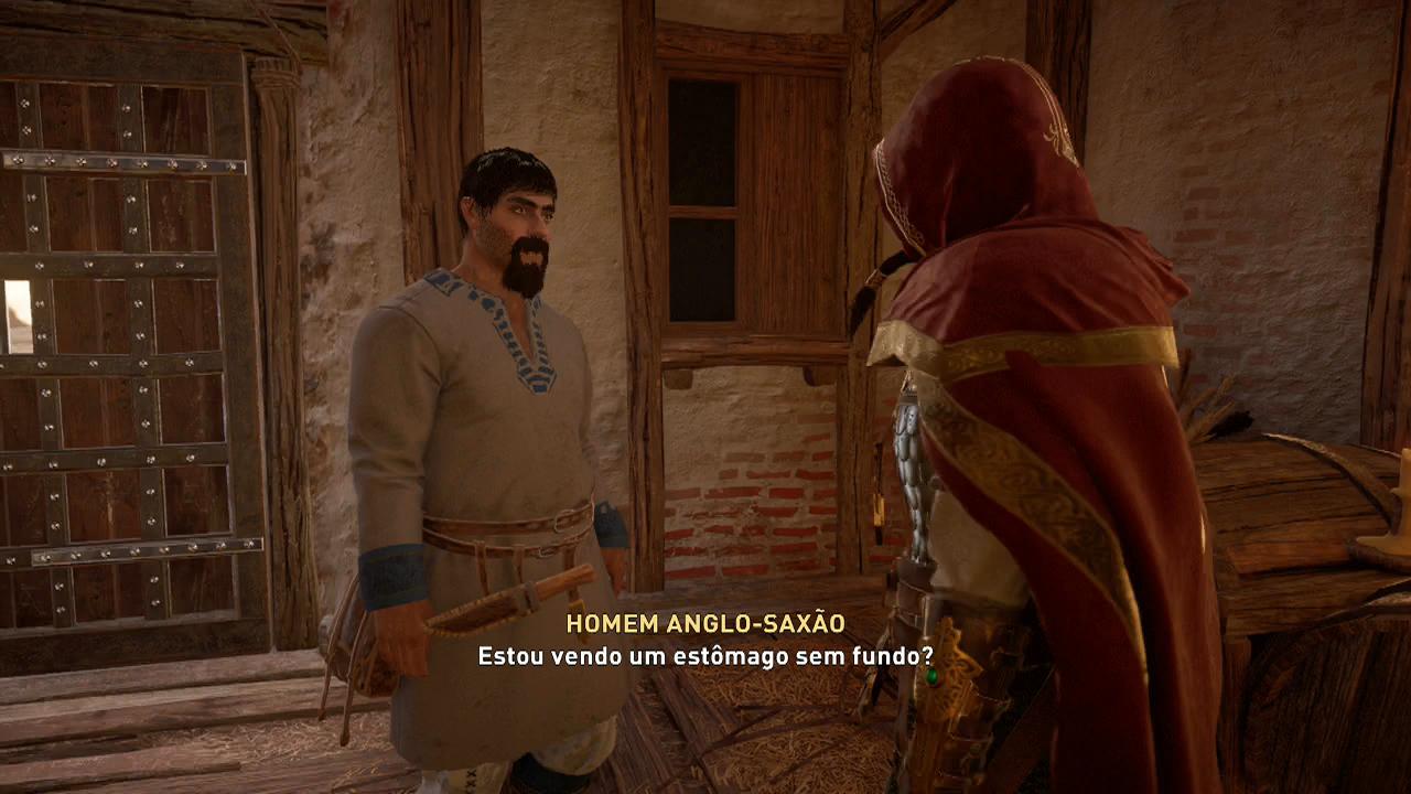 Assassin's Creed Valhalla dinheiro facil homem anglo saxao walden