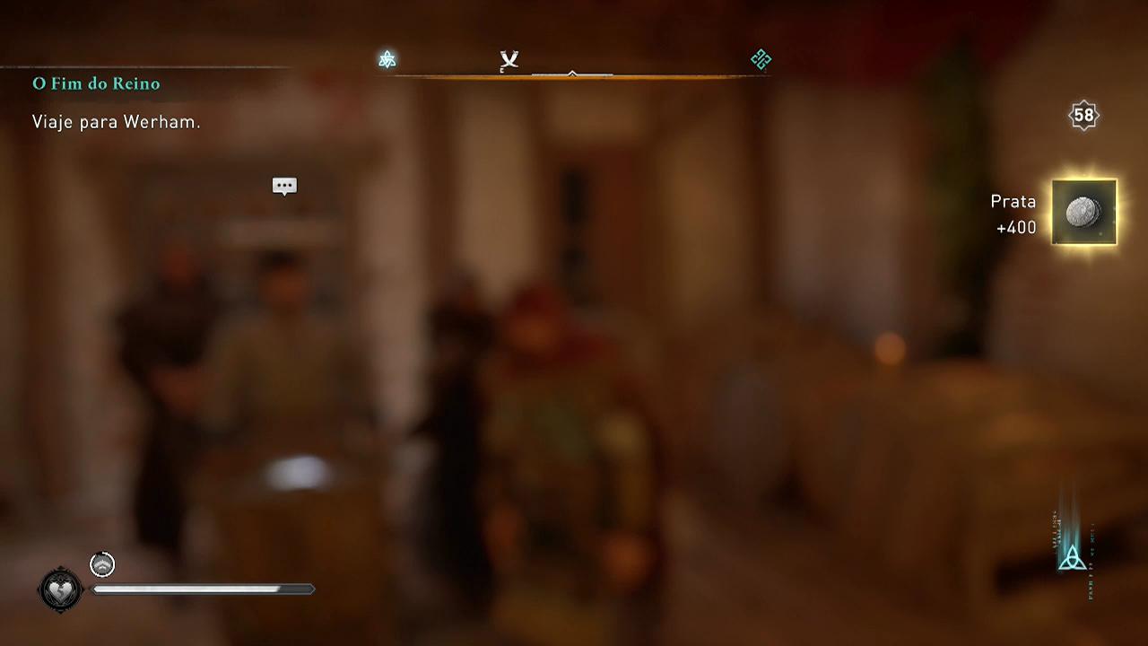 Assassin's Creed Valhalla dinheiro falcil walden