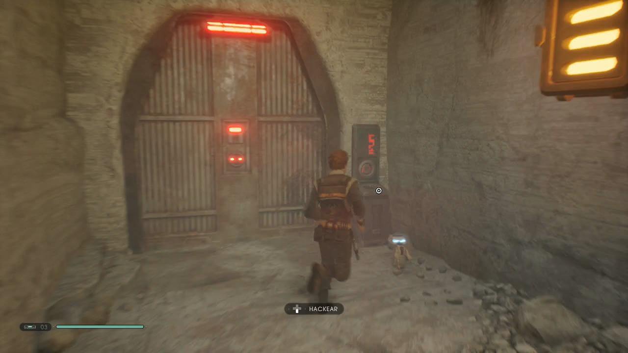Jedi Fallen Order bogano bd-1 hackear