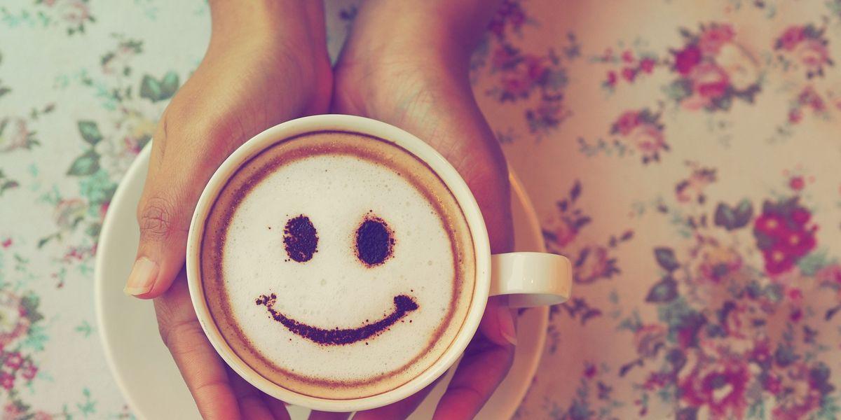 cafe e felicidade