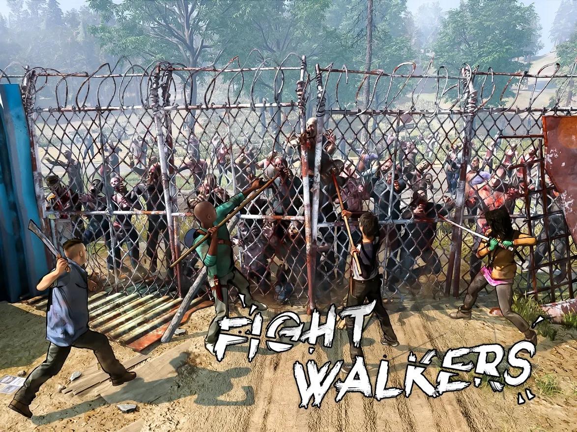 the walking dead twd fight walkers